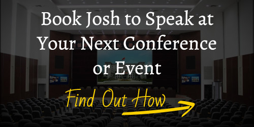 How to Have Josh Paul Speak at Your Next Conference or Meeting